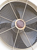 Old ventillation fan Royalty Free Stock Image
