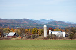 Old Vermont barns Royalty Free Stock Photo