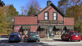 Old Vermont Country Store. Original 1859 Vermont country store in Shelburne, Vermont Royalty Free Stock Photos