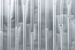 Old vertical texture zinc aluminium closeup background metal square Stock Photos