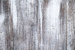 Old vertical white wooden boards with texture for background. Horizontal frame Stock Photos