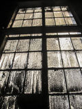 Old, very dirty window industry Stock Photo
