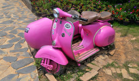 Old Vespa Royalty Free Stock Images