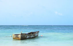 Old Vessel in the Caribbean Royalty Free Stock Images