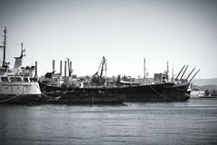 Old vessels Stock Photography
