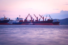 Old vessels Royalty Free Stock Photo