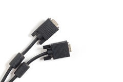 Old VGA Cable Royalty Free Stock Photo