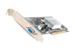 Old VGA computer graphic card Royalty Free Stock Photos
