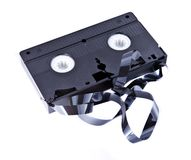 Old VHS tape Royalty Free Stock Photo