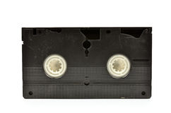 Old  vhs video cassette Stock Photography