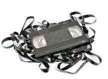 Free Old Vhs Video Cassette Stock Photography - 26178622
