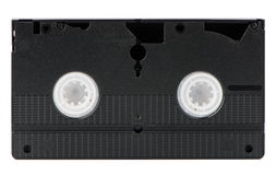 Old VHS Video tape Stock Photos