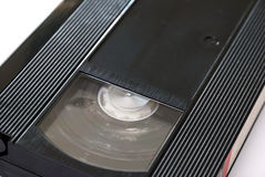 Old vhs video tape and cd Stock Photography