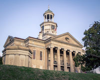 Old Vicksburg courthouse stock photos