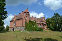 Old victorian castle - manor Royalty Free Stock Image