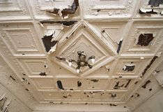Old Victorian Ceiling Royalty Free Stock Image