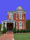 Old Victorian house. An old, very nice kept Victorian house in the south of the USA Royalty Free Stock Images