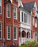Old Victorian houses Royalty Free Stock Photography