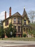 Old Victorian mansion stock image