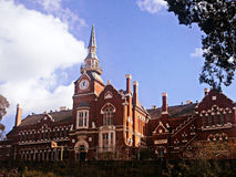 Old Victorian School. A Victorian red brick school Royalty Free Stock Photo