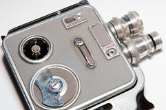 Old Video Camera Royalty Free Stock Images