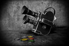 Old Video Camera stock images