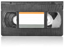 Old video cassette Royalty Free Stock Images