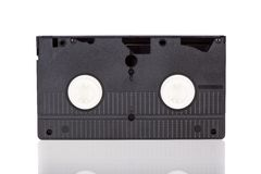 Old Video Cassette tape Stock Photo
