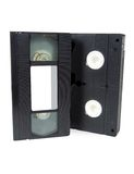 Old video cassette tapes vhs Stock Photo