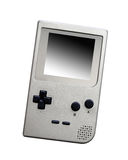 Old video game. On white background Stock Photo
