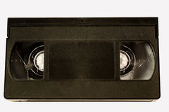 Old video tape. (isolated on white Stock Photo