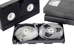 Old video tape Stock Photos