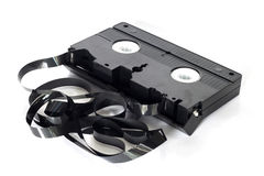 Old video tape Stock Photo