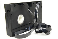 Old videotape royalty free stock photos