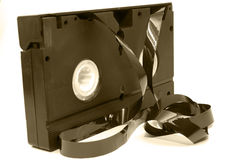 Old videotape 2 Stock Photo