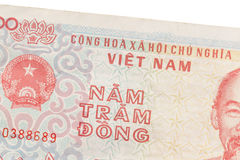 Old Vietnamese Dong, Vietnamese currency Stock Photos