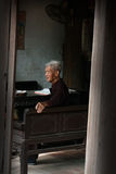 Old Vietnamese Man, Vietnam Travel Royalty Free Stock Photography