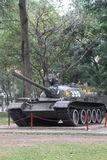 Old Vietnamese tank. In front of Independence or Reunification Palace in Ho Chi Minh city, Vietnam Stock Photos
