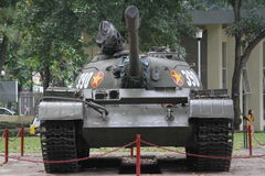 Old Vietnamese tank. Pictured outside Reunification or Independence Palace in Ho Chi Minh city, Vietnam Stock Photo