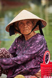 Old Vietnamese woman Stock Photography