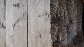 A hewn doorway Stock Photos