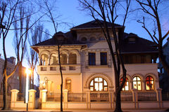Old villa Royalty Free Stock Image