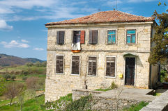 Old villa. In Hum, smallest town on Earth located in Istria peninsula, Croatia Stock Images