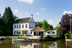 Old Villa in Holland Royalty Free Stock Image