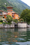 Old villa at lake Como, Italy Royalty Free Stock Photo