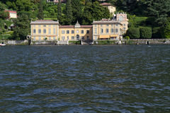 Old villa at lake Como, Italy Stock Photography
