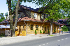 Old Villa Marysin in Zakopane Royalty Free Stock Image