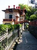 Old villa in Moscenicka Draga,Croatia Royalty Free Stock Image