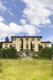 Old villa near Castelfiorentino (Tuscany) Royalty Free Stock Photo