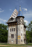 Old villa in Palic, Subotica, Serbia Royalty Free Stock Images